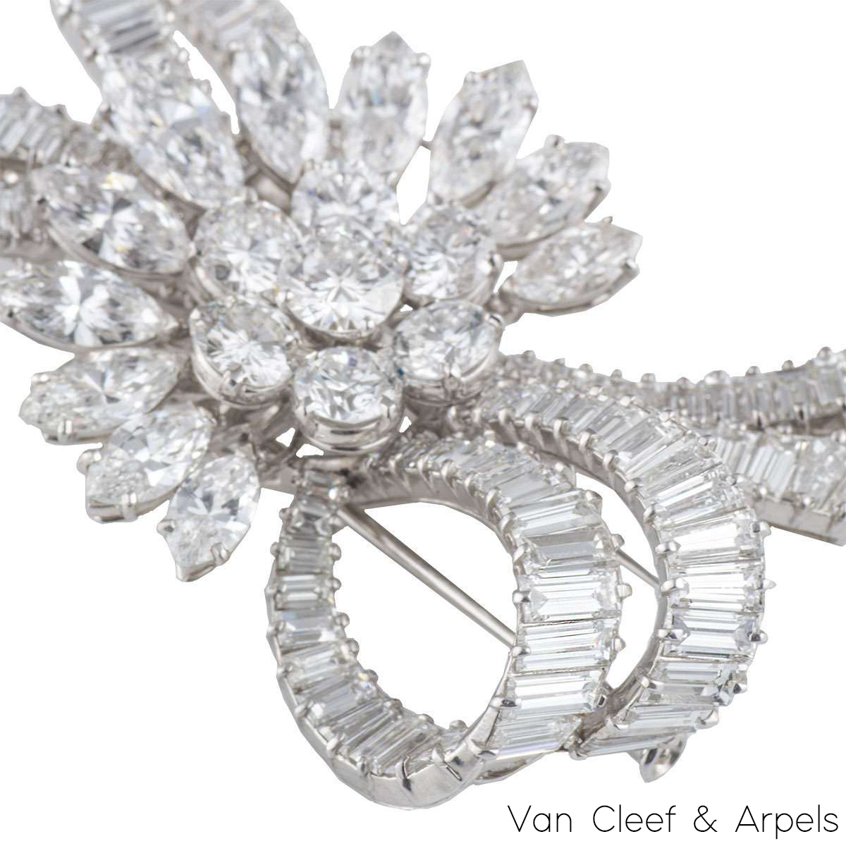 Van Cleef & Arpels Diamonds Brooch c.1950.